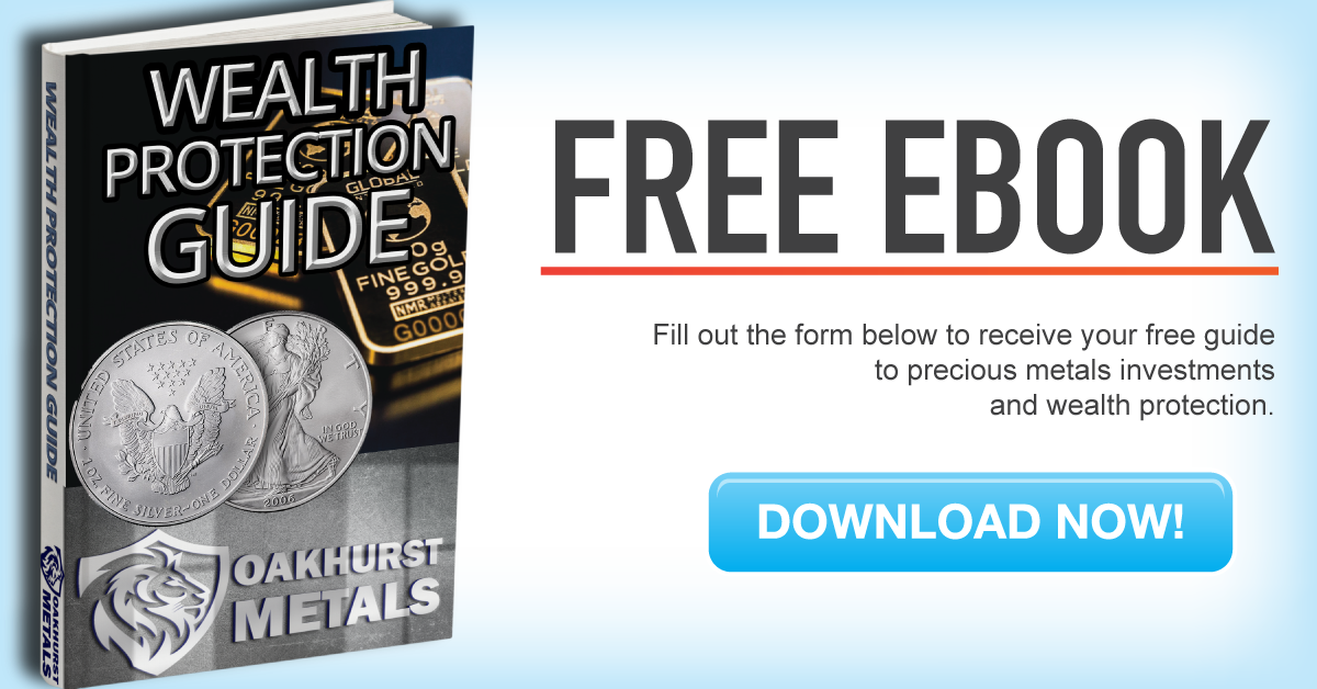 Free Ebook version downloadable of Oakhurst Metals Wealth Protection Guide 2020 edition helping educate investors on wealth protection through self-directed IRAs